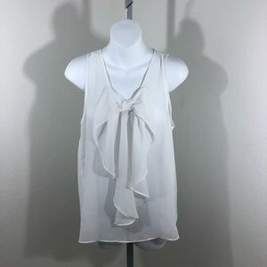 iZ Byer Sheer Sleeveless Blouse